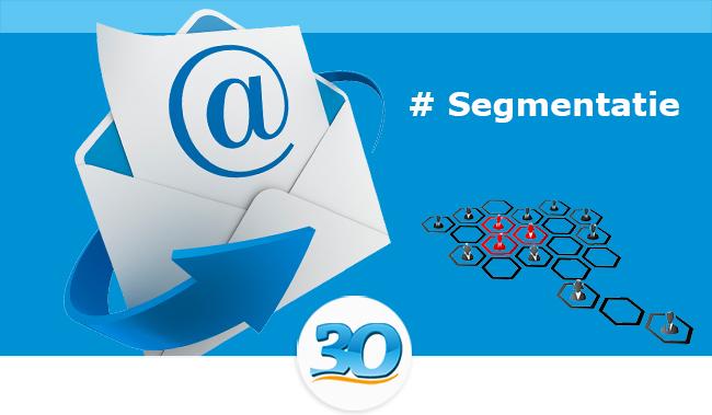 Email marketing segmentatie